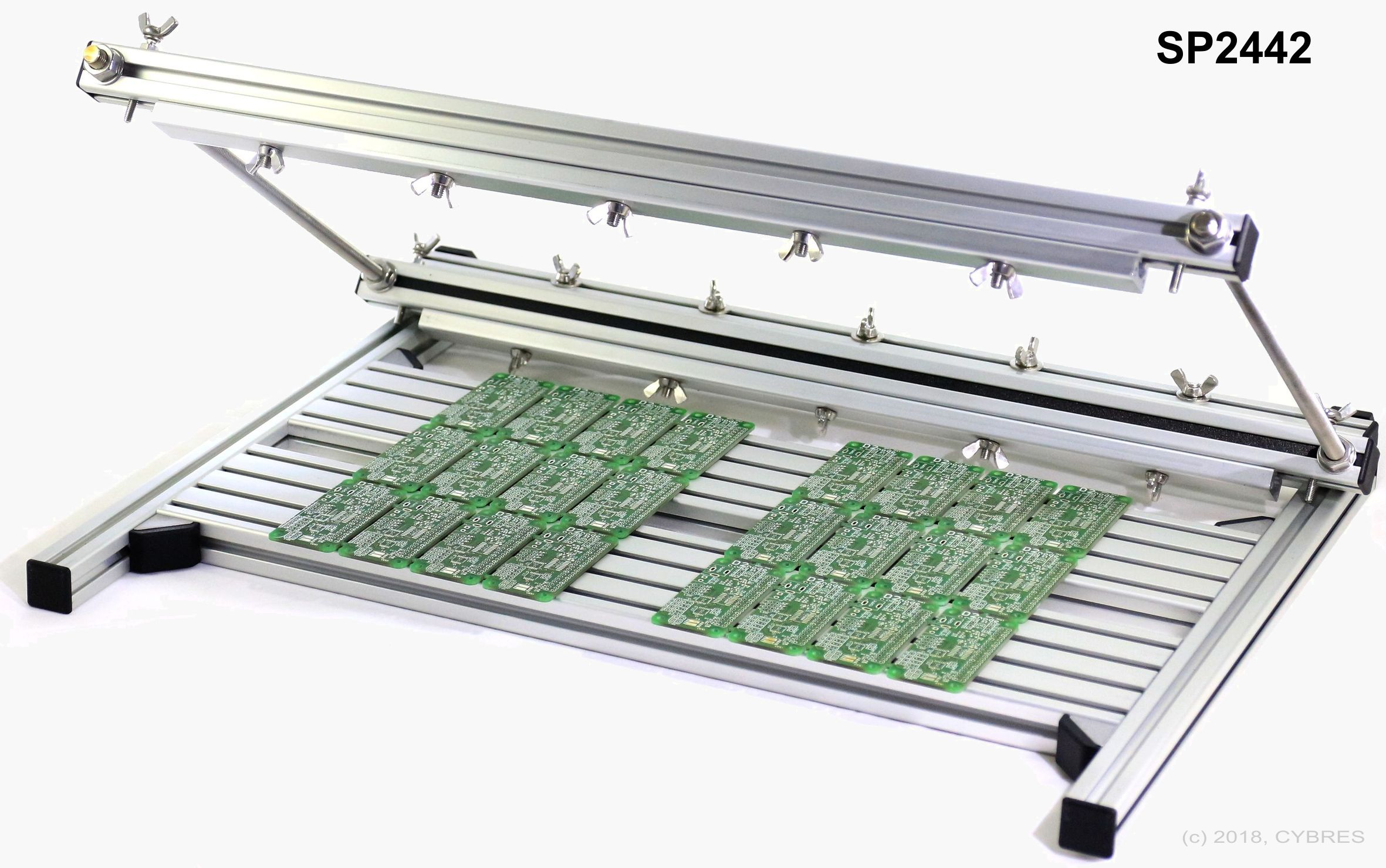 Manual Stencil Printer CYBRES SP2421 & SP2442 | Cybertronica Research